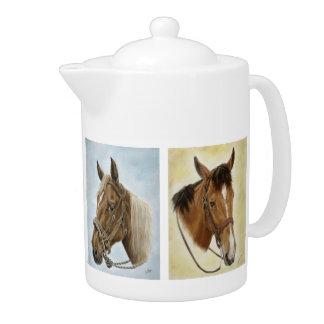 De Paarden van paarden! Theepot