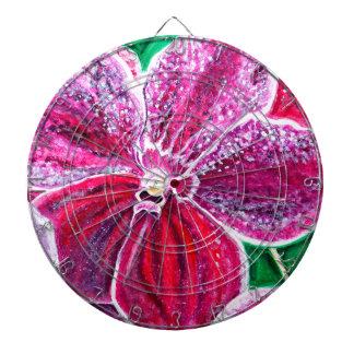 De paarse Bloei van de Orchidee Dartbord