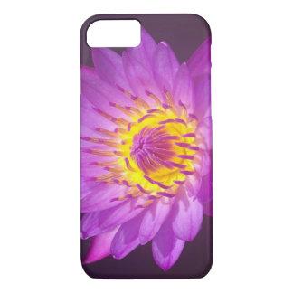 De paarse Bloem van Lotus iPhone 8/7 Hoesje