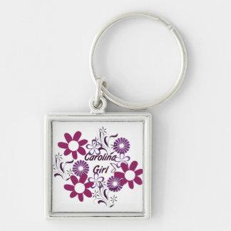 De Paarse Bloemen Keychain van het Meisje ~ van Ca Sleutelhanger