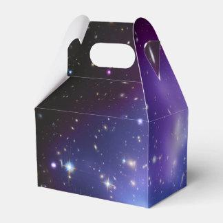 De paarse Cluster van de Melkweg Bedankdoosjes