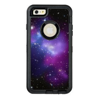 De paarse Cluster van de Melkweg OtterBox Defender iPhone Hoesje