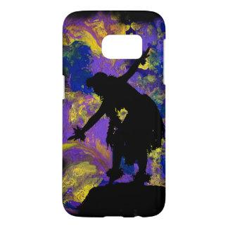De paarse Danser van Hula van de Melkweg Samsung Galaxy S7 Hoesje
