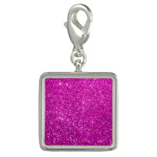 De paarse Diamant schittert Charm