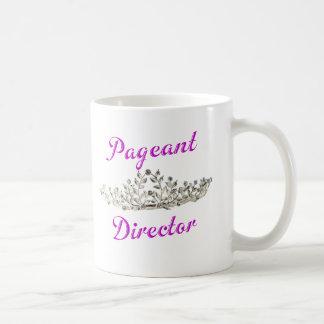 De paarse Directeur van het Spectakel Koffiemok