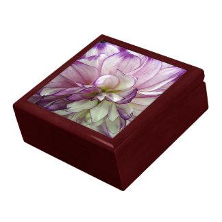 De paarse Doos van de Gift van het Mahonie van de  Decoratiedoosje