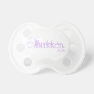 (De Paarse) Fopspeen van het Baby van Bakken