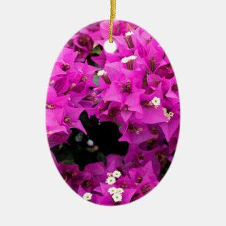 De paarse Fuchsiakleurig Achtergrond van Keramisch Ovaal Ornament