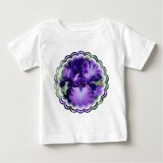 De paarse Gebaarde T-shirt van het Baby van de