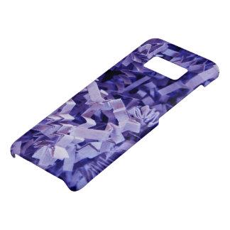 De paarse Gerimpelde Verscheurde Foto van het Case-Mate Samsung Galaxy S8 Hoesje