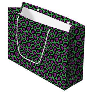 De paarse & Groene Zak van de Gift van LG van de Groot Cadeauzakje
