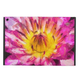 De paarse Inkt van de Waterverf van de Waterlelie iPad Air Hoesje