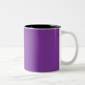 De Paarse Koninklijke Violette Indigo van Phuket Tweekleurige Koffiemok