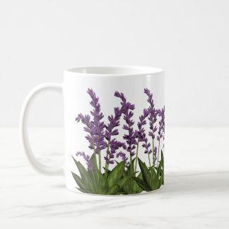 De paarse Lente van de Lavendel bloeit de Mok van