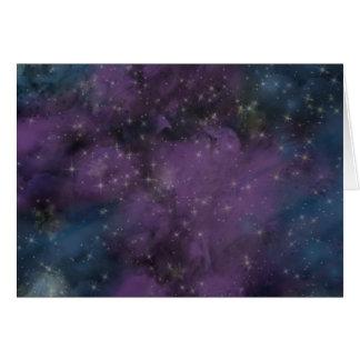 De paarse Nevel van de Melkweg Kaart