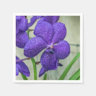 De paarse orchideeën van Vanda Wegwerp Servet