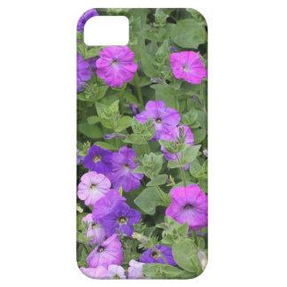 De paarse Petunia van het Thema van de Tuin van de Barely There iPhone 5 Hoesje