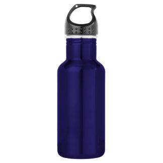 De paarse Sjabloon van het Aluminium van de Waterfles