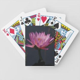 De paarse Speelkaarten van Waterlily Lotus Poker Kaarten