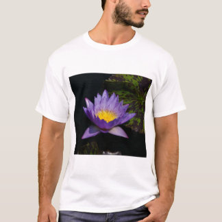De paarse T-shirt van Lotus Waterlily