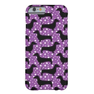 De paarse Tekkels van de Polka Barely There iPhone 6 Hoesje