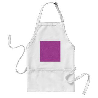 De paarse Textuur van het Leer Standaard Schort