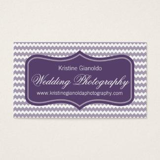 De paarse Visitekaartjes van de Fotograaf van het