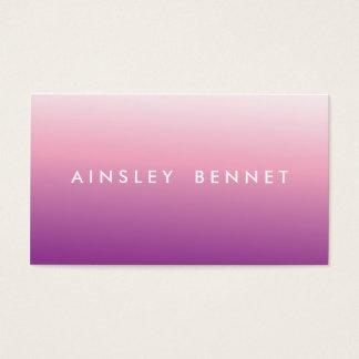 De paarse Visitekaartjes van de Waterverf Ombre