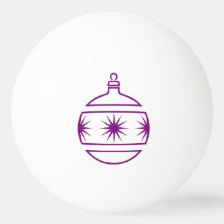 De paarse Vormen van het Overzicht van het Pingpongballetjes