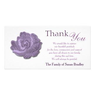 De paarse Wijnoogst nam Sympathie dankt u de Kaart