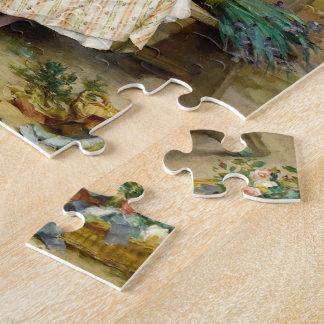 De Paaseieren, het fijne kunst vintage schilderen Puzzel