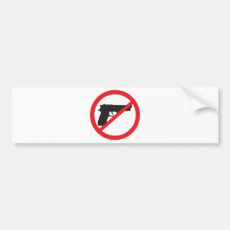 De Pacifist van het anti-Pistool van de Pistolen v Bumpersticker