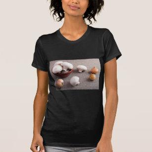 De Op Uien Paddestoelen T Van Shirt En Champignon rzrHZ