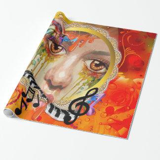De pallet van de Kunstenaar Cadeaupapier