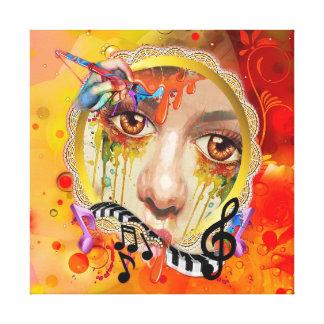 De pallet van de Kunstenaar Canvas Prints