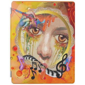 De pallet van de Kunstenaar iPad Cover