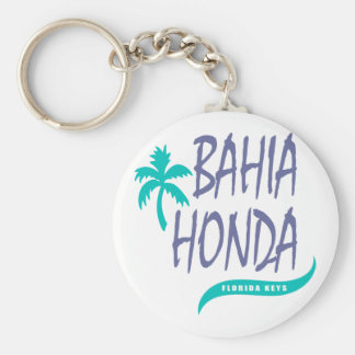 De palm van de Sleutels van Bahia Honda Florida Sleutelhanger