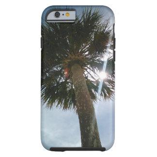 De Palm van de zonnestraal Tough iPhone 6 Hoesje