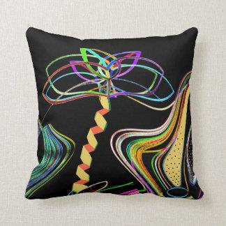 De Palm van het neon Sierkussen
