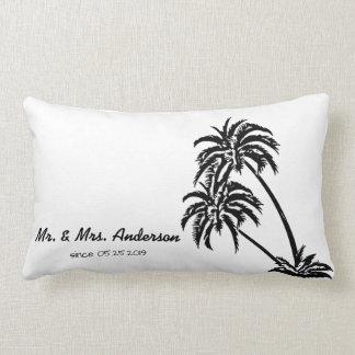 De palmen houden van Tropisch Gepersonaliseerd Lumbar Kussen