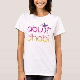 De Palmen van Abu Dhabi in de Kleuren van de T Shirt