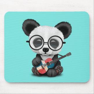 De Panda die van het baby de Dominicaanse Gitaar Muismat