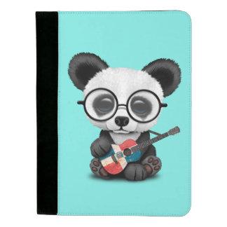 De Panda die van het baby de Dominicaanse Gitaar Padfolio