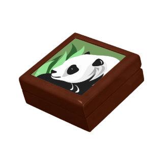 De panda draagt de Giften van de Minnaar Decoratiedoosje