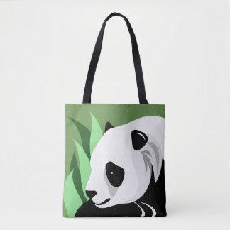 De panda draagt de Zakken van de Minnaar Draagtas