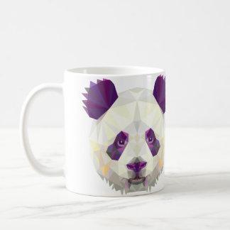 De panda draagt ontwerpmok koffiemok
