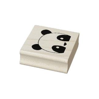 De panda draagt Zegel Rubberstempel