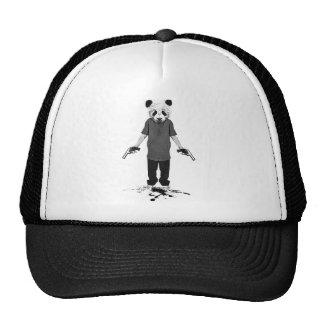 De panda van de moordenaar petten met netje