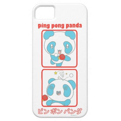 De Panda van de pingpong in Actie iPhone 5 Case