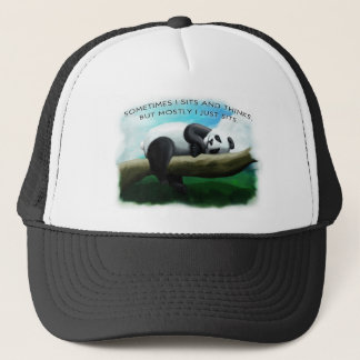 De Panda van de zitting Trucker Pet